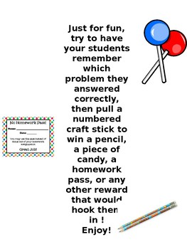 Awesomely Engaging Mental Math Warm-Up Activity ! ( One Academic Year's Worth)