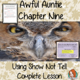 Awful Auntie,  Using Show not Tell in Writing Complete Eng