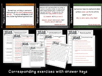Awkward Wording: Help Your Students Write Strong, Clear Sentences