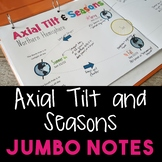 Axial Tilt and Seasons JUMBO Notes