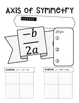 Axis of Symmetry Doodle Notes