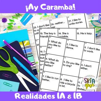 Ay Caramba (Realidades 1A-1B)