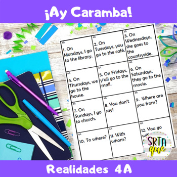 Ay Caramba (Realidades 4A)