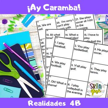Ay Caramba (Realidades 4B)