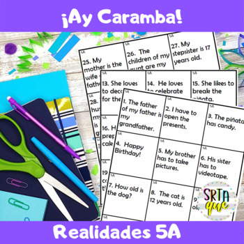 Ay Caramba (Realidades 5A)