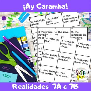 Ay Caramba (Realidades 7A-7B)