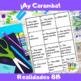 Ay Caramba (Realidades 8A-8B)
