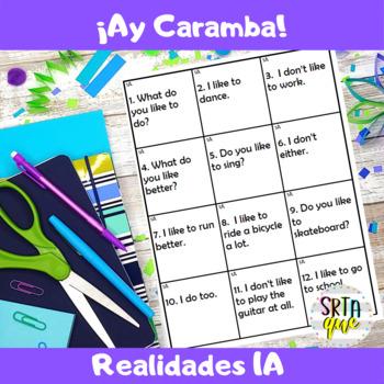 Ay Caramba (Realidades PE-5A)