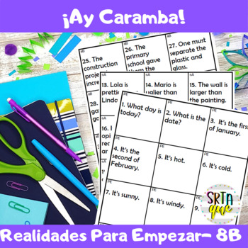 Ay Caramba (Realidades PE - 8B)