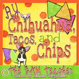 Ay Chihuahua, Tacos, & Chips: Clip Art Set