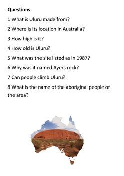 Ayers Rock Handout