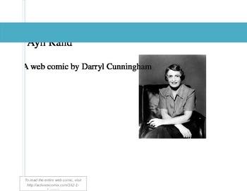 Ayn Rand Introduction Activity: Web Comic