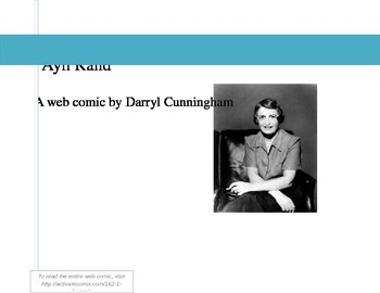 Ayn Rand Introduction Activity: Web Comic