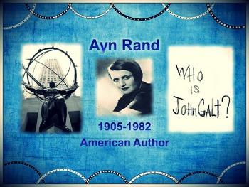 Ayn Rand PowerPoint Presentation:Bio, Collectivism, Individualism, & Objectivism