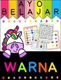 Ayo Belajar Warna - Colour/color in Bahasa Indonesia/Indon
