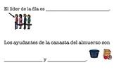 Ayudantes - Classroom Helpers Spanish