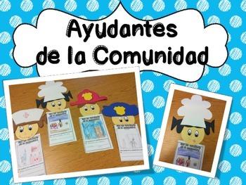 Ayudantes de la Comunidad (Community Helpers in Spanish)