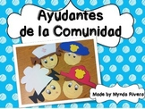 Ayudantes de la Comunidad (Community Helpers in Spanish)