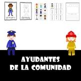 Ayudantes de la comunidad (Community Helpers-Spanish)