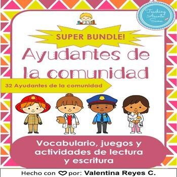 Ayudantes de la comunidad SUPER BUNDLE – Community Helpers in Spanish