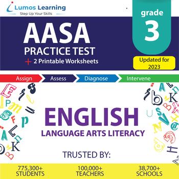 AzM2 Test Prep Language Arts - AzM2 Practice Test & Worksheets Grade 3 ELA