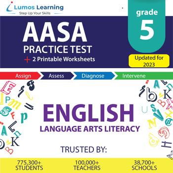 AzM2 Test Prep Language Arts - AzM2 Practice Test & Worksheets Grade 5 ELA