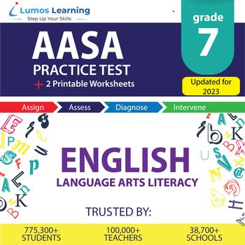 AzM2 Test Prep Language Arts - AzM2 Practice Test & Worksheets Grade 7 ELA