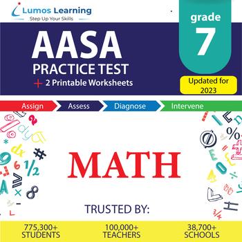 AzM2 Test Prep Language Arts - AzM2 Practice Test & Worksheets Grade 7 MATH