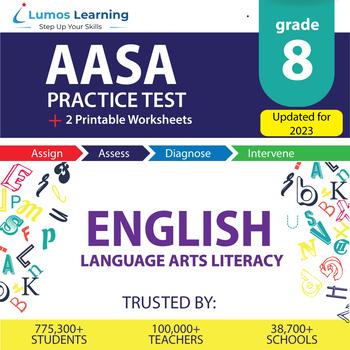 AzM2 Test Prep Language Arts - AzM2 Practice Test & Worksheets Grade 8 ELA