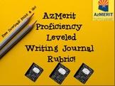 AzMerit  Proficiency Leveled Writing Journal  Rubric!