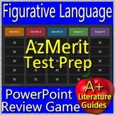 AzMerit Test Prep Figurative Language Game for English Language Arts Grades 5-8