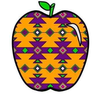 Aztec Apples Clip Art