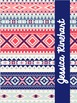 Aztec Binder Covers and Spines- Editable