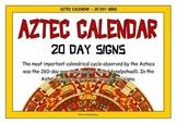 Aztec Calendar - 20 Day Signs