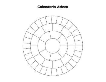 Aztec Calendar project Spanish 1