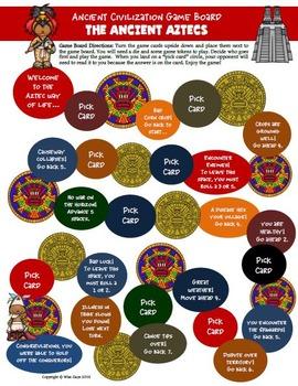 Aztec Civilization  Activities, Printables, Lesson Plans