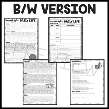 Aztec Daily Life, Mesoamerica, Ancient Civilizations, Aztecs