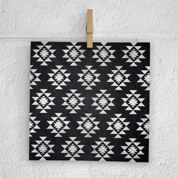 Aztec Digital Paper, Chalkboard Tribal Backgrounds
