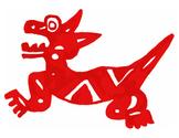 Aztec Dog Clip Art