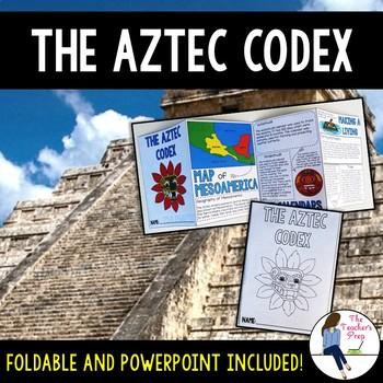 Aztec Empire Codex Foldable