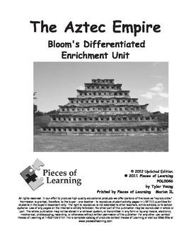 Aztec Empire - Differentiated Blooms Enrichment Unit