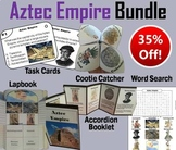 Aztec Empire Task Cards and Activities Bundle