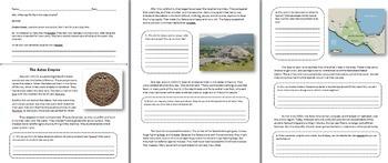 Aztec Empire Unit - Geography, Religion, Warriors, Montezuma, Politics, Food