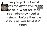 Aztec Escape Room---editable and easy for your first escap