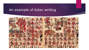 Aztec Glyphs - Number and Letter Systems