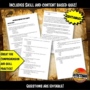 Aztec Historical Snapshot Close Reading Investigation, Analysis and Annotation