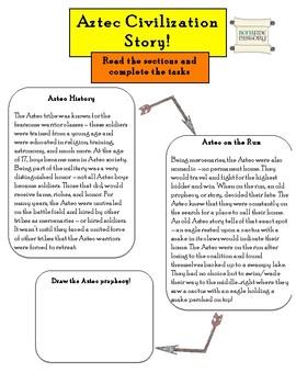 Aztec, Inca, Maya - Aztec Warrior Reading!