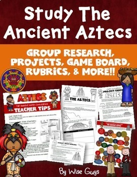 Aztec Inca Maya Lesson Plans and Printables
