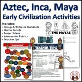 Aztec, Inca, Maya Unit