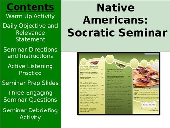 Aztec, Inca, Maya - Socratic Seminar
